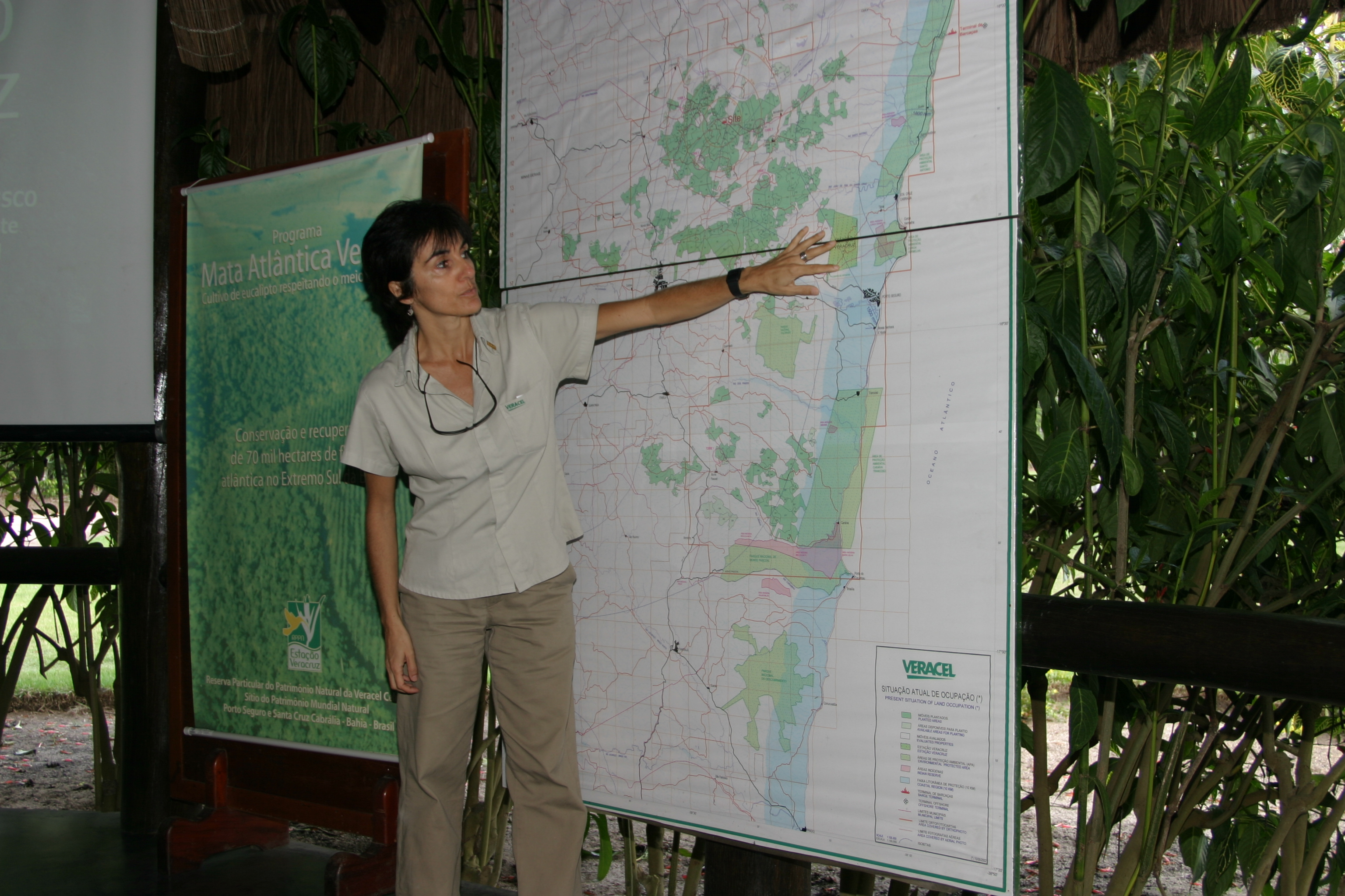 Field visit during Forests and Biodiversity Conservation dialogue in Brazil