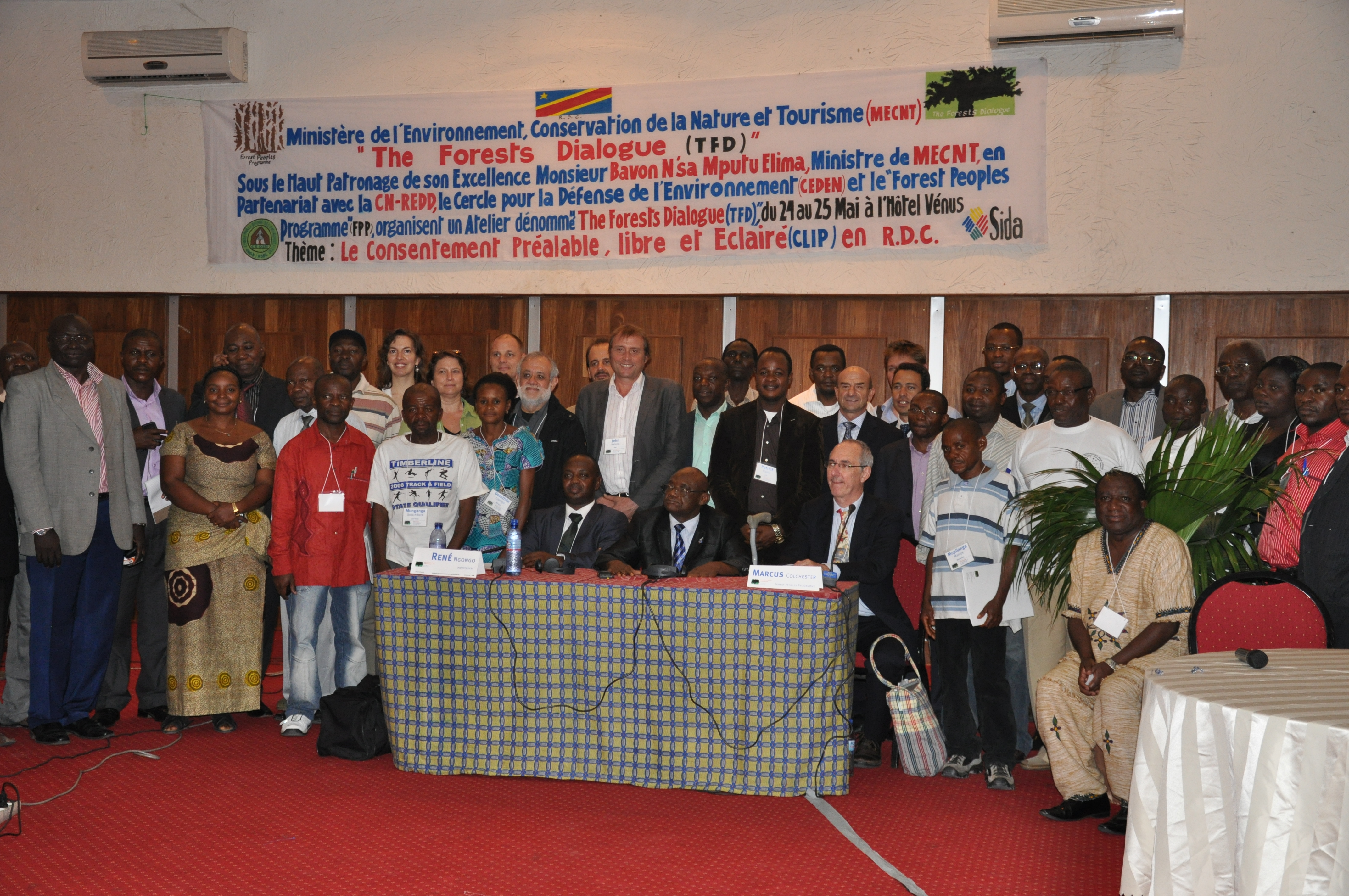 Field Dialogue on FPIC in the Democratic Republic of Congo