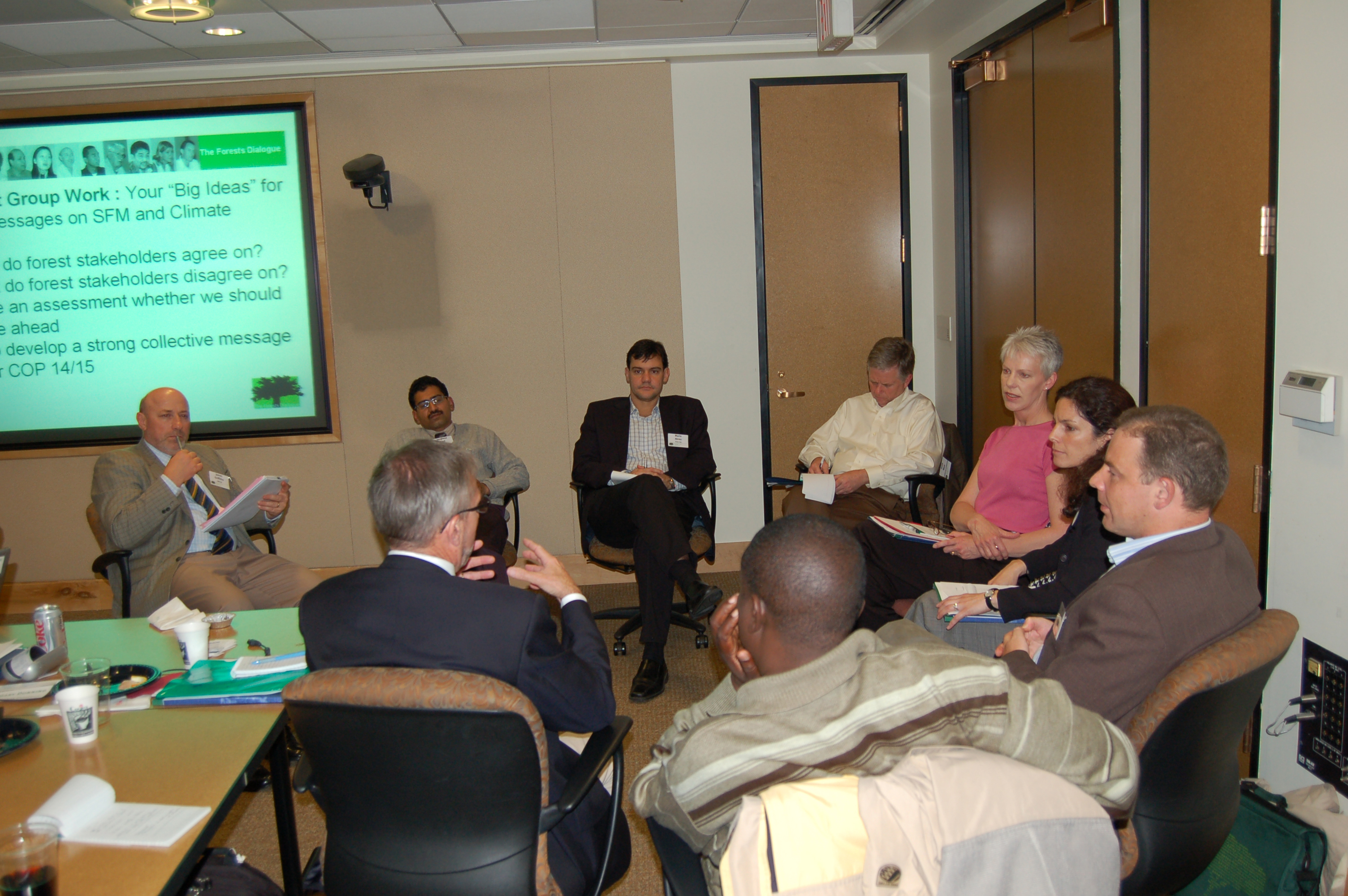 Dialogue on Forests and Climate breakout
