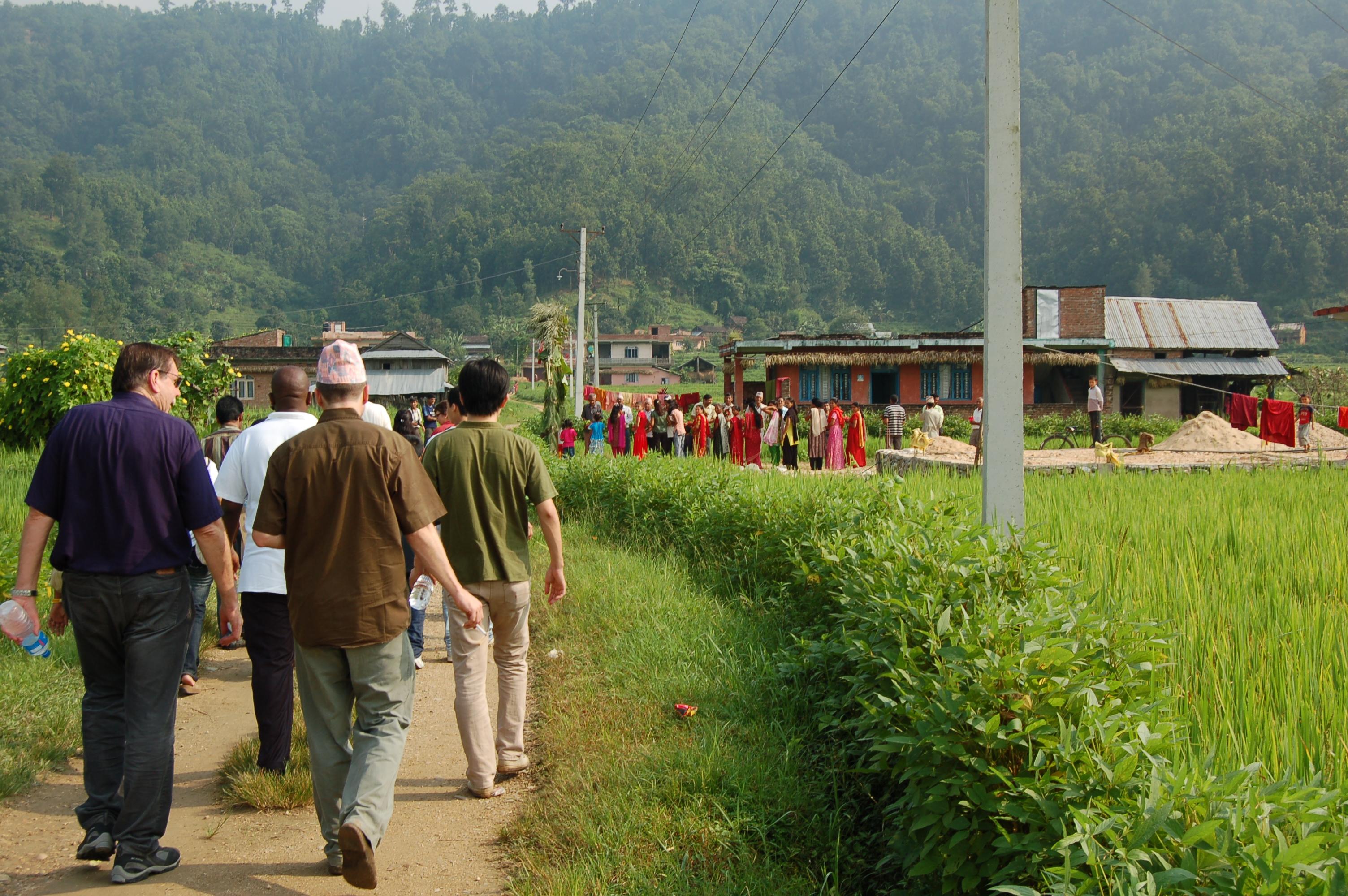 Field Dialogue on ILCF in Nepal