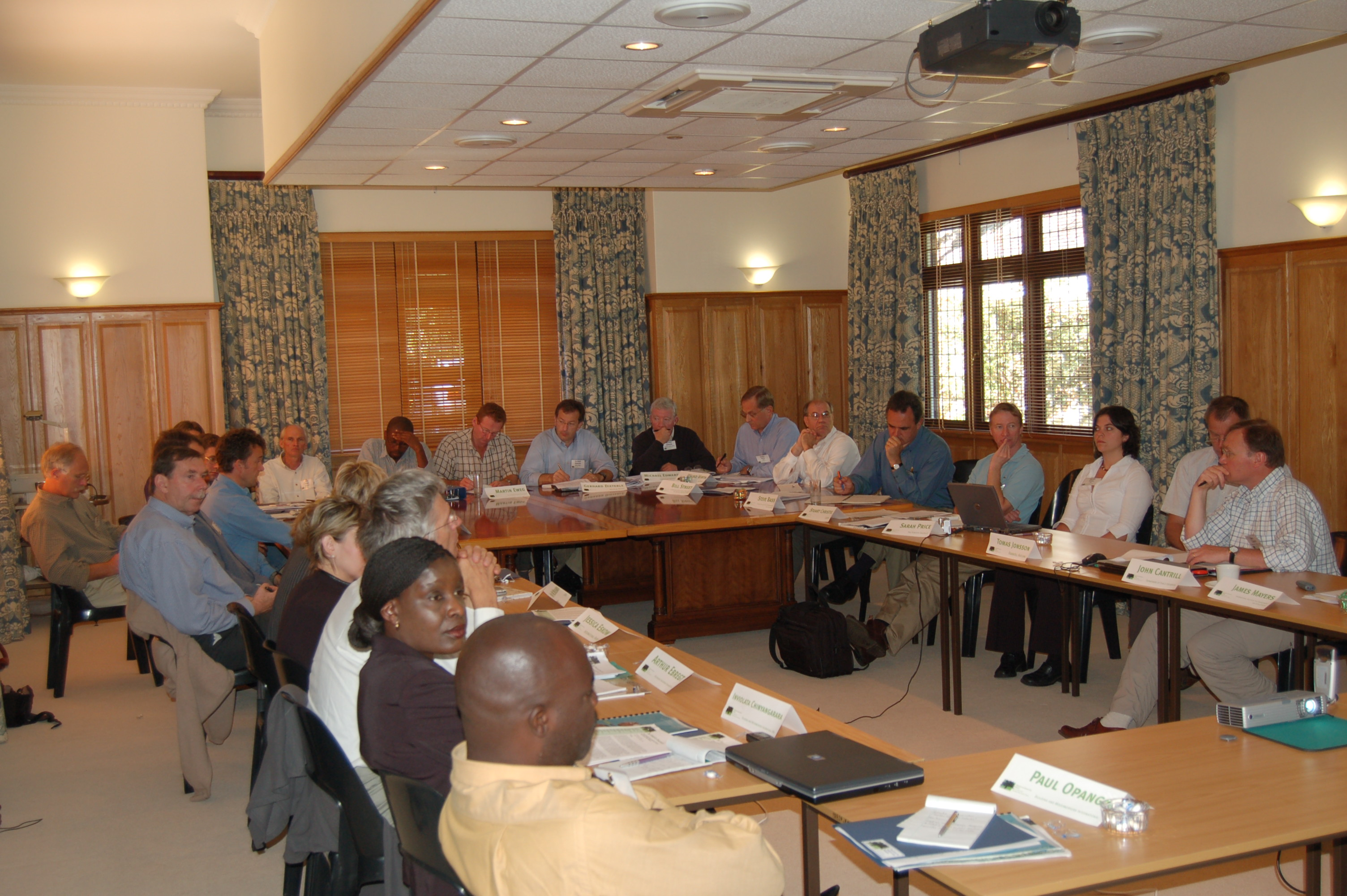 Scoping Dialogue on Forests and Poverty Reduction in South Africa