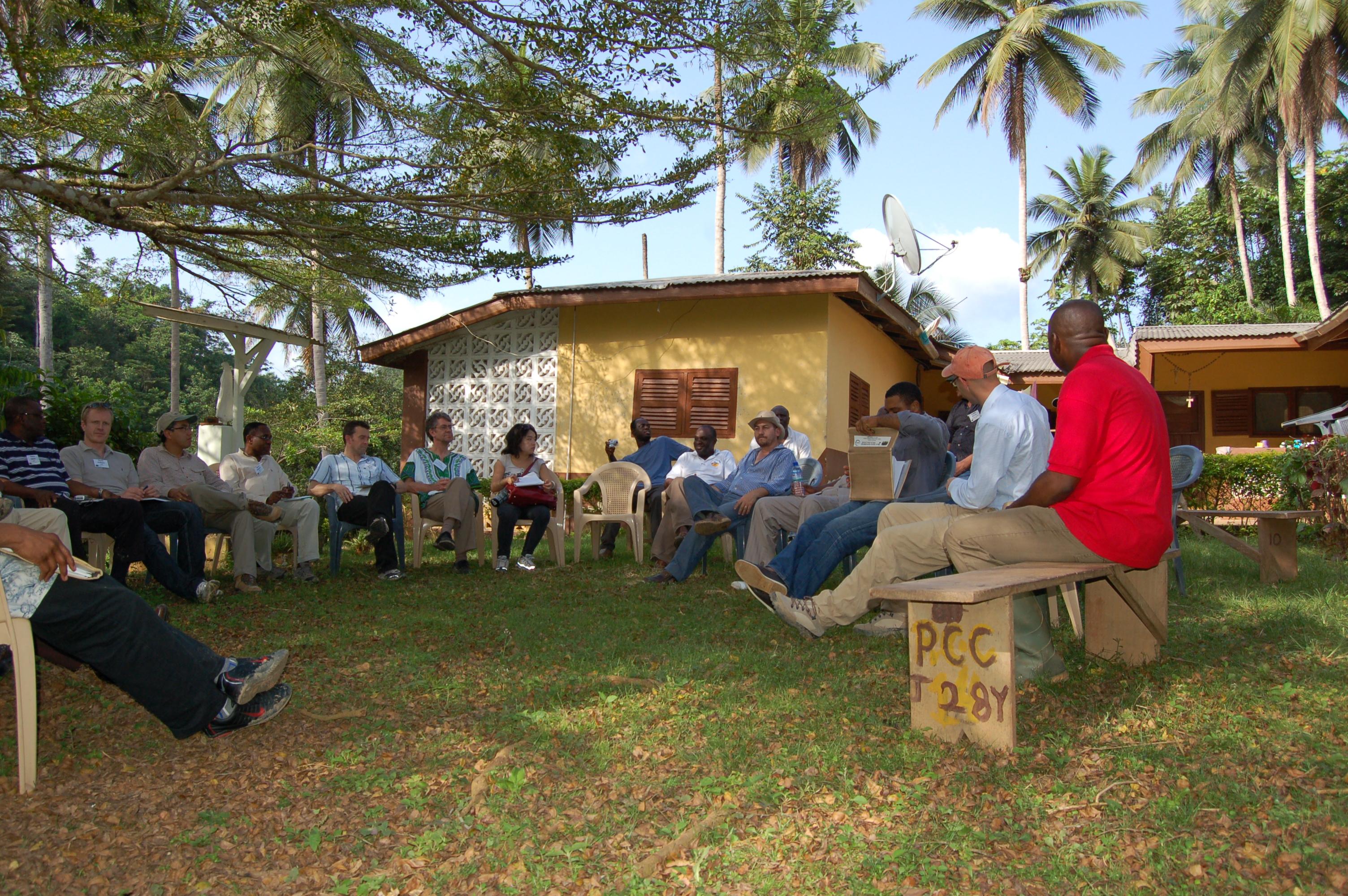 Field Dialogue on REDD Readiness in Ghana