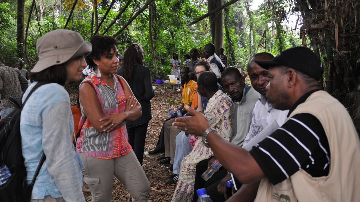 Field Dialogue on REDD+ Benefit Sharing in Ghana