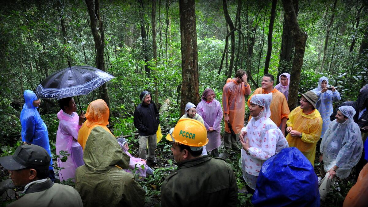 Field Dialogue on REDD+ Benefit Sharing in Vietnam