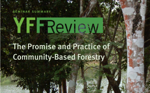 Yale Forest Forum Review: The Promise and Practice of Community-Based Forestry